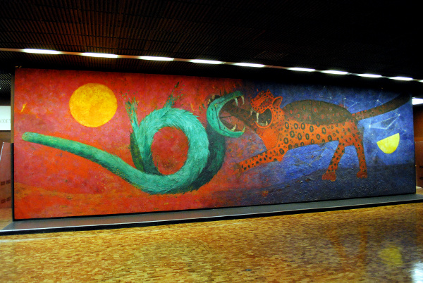Tamayo murals related keywords suggestions tamayo for Mural rufino tamayo