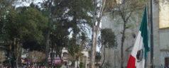Autoridades municipales encabezaron el acto cívico del 5 de febrero en Tlaxiaco