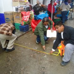 Reubicación de comerciantes en el primer cuadro del mercado Benito Juárez