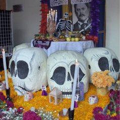 Tradición y cultura, día de Muertos en Huajuapan