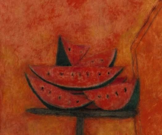 """Venden """"Rodajas de sandías"""" del pintor Rufino Tamayo en 2.2mdd"""