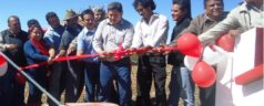 Construímos 10 sistemas de agua potable en Tlaxiaco: Germán Simancas