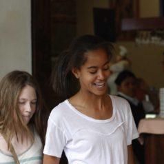 Hija de Obama de visita en Oaxaca