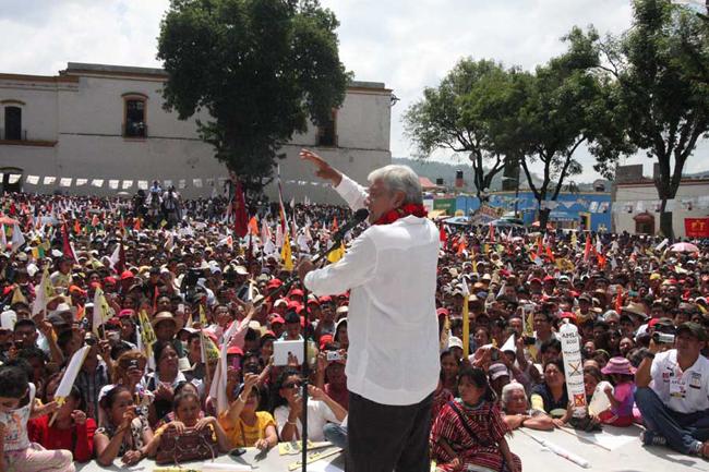 AMLO a mixtecos: no vendan su voto