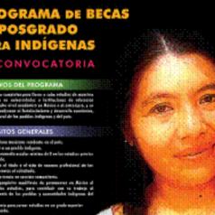 PROGRAMA DE BECAS DE POSGRADO PARA INDÍGENAS CIESAS-CDI-CONACYT