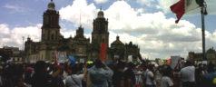 Salen a las calles a expresar descontento contra EPN