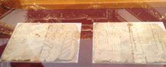 Presentó la Fundación Alfredo Harp Helú, tres hojas del Códice de Yanhuitlán