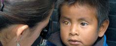 15% de alumnos mixtecos con problemas de visión
